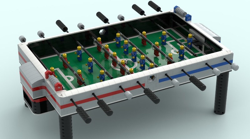 LEGO Ideas Foosball Table Featured