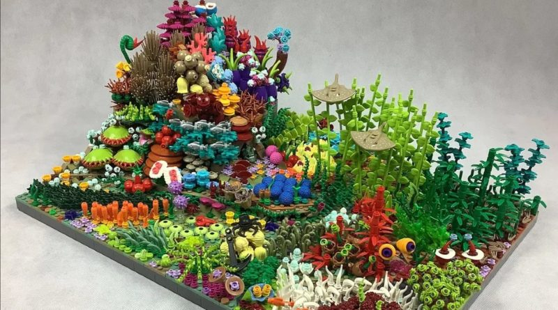 LEGO Ideas Great Coral Reef featured