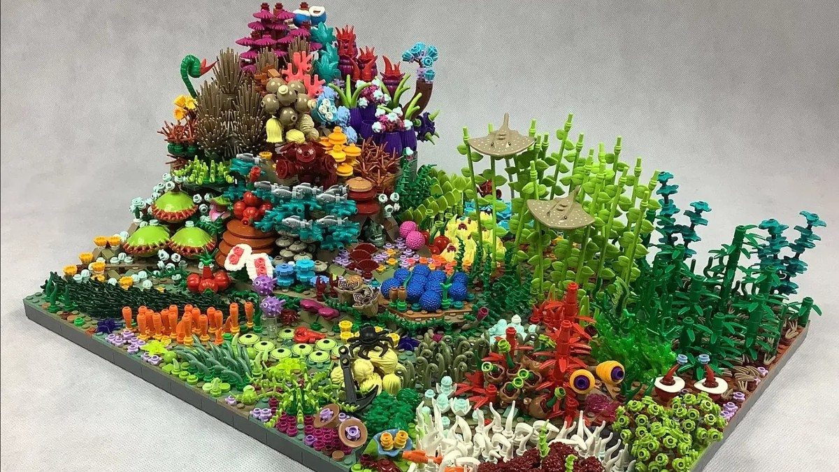 Great Coral Reef flows to 10K supporters on LEGO Ideas