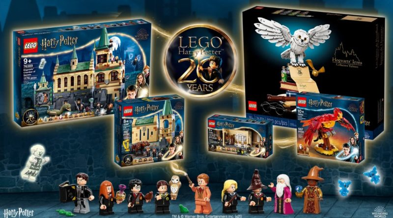 LEGO Ideas Harry Potter 20th anniversary contest banner featured