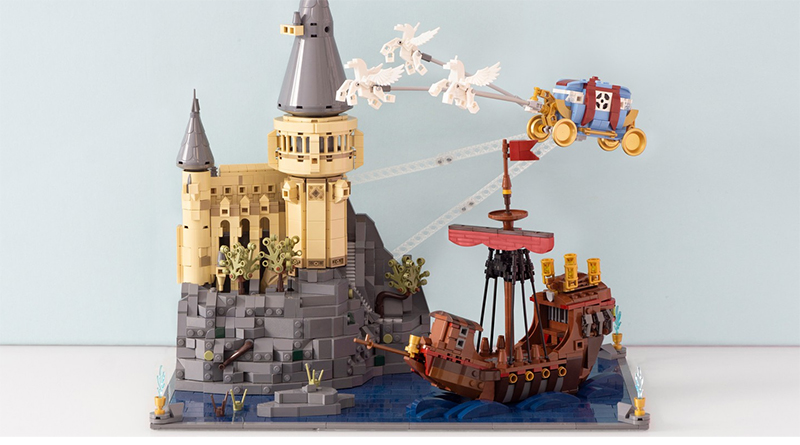 Annonce Du Gagnant Du Concours Lego Ideas Harry Potter Durmstrang is one of the oldest magical schools and is steeped in history so in todays video i'm going to take you through the. lego ideas harry potter contest winner announced