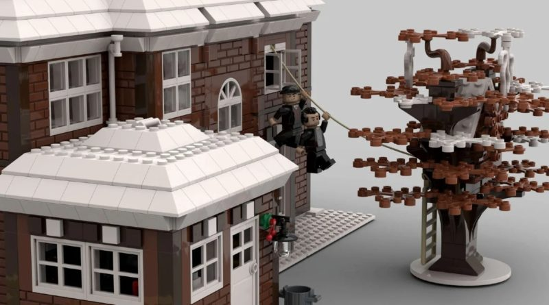 LEGO Ideas Home Alone fan design tree house featured