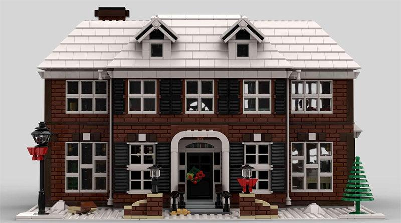 Lego Ideas တစ်ကိုယ်တော်နေအိမ်