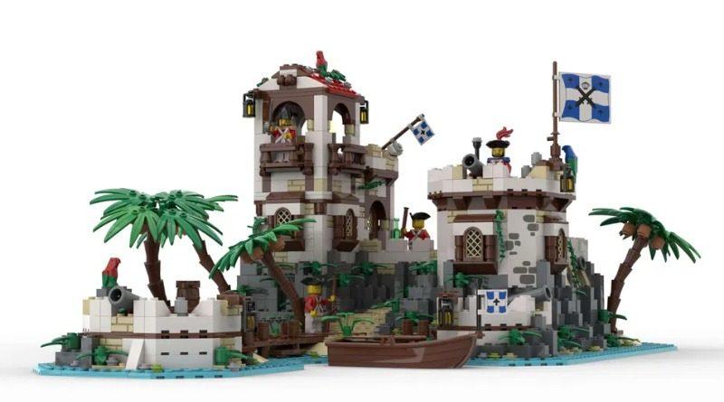 LEGO Ideas Imperial Island Fortress FI