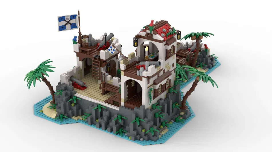 LEGO Ideas Imperial Island Fortress