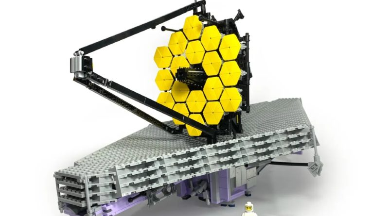 LEGO Ideas James Webb Telescope featured