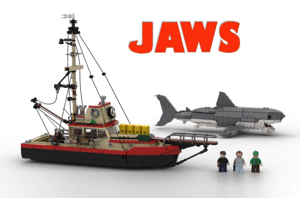 LEGO Ideas Jaws 2