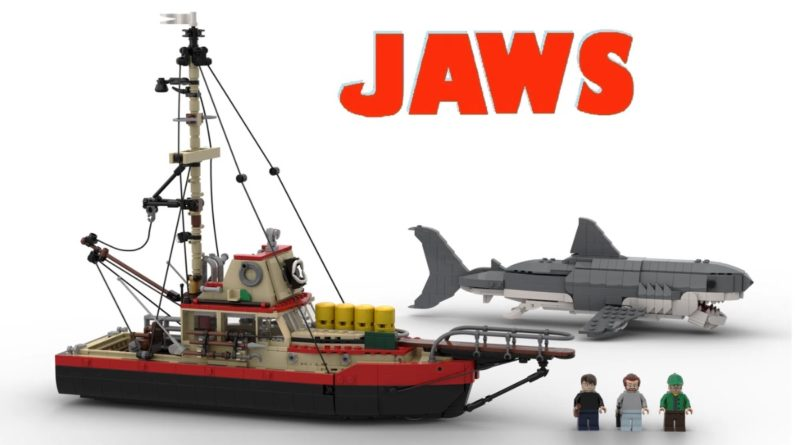 LEGO Ideas Jaws featured