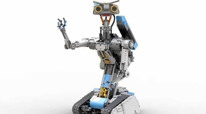 LEGO Ideas Johnny five featured