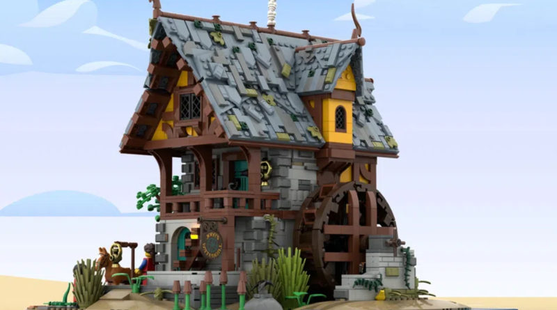 LEGO Ideas Johns Medieval Watermill featured