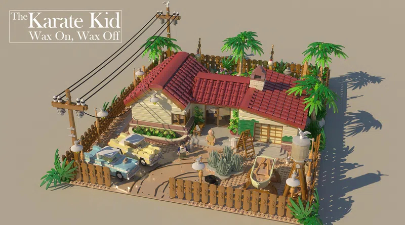 LEGO Ideas Karate Kid Featured