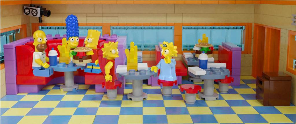 LEGO Ideas Krusty Burger Interior 2