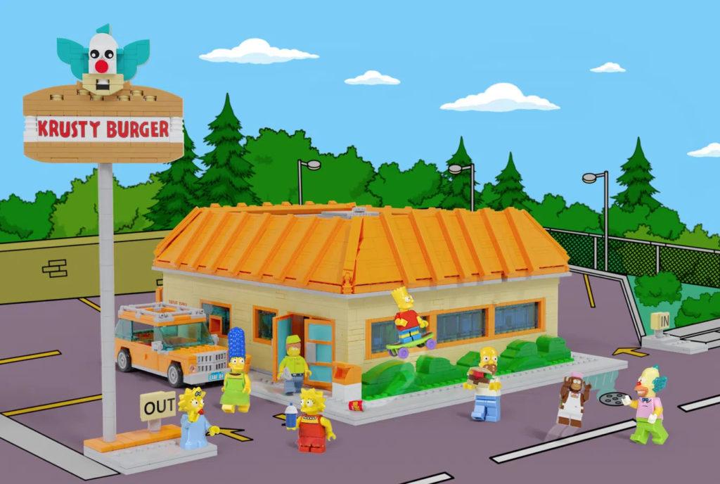 LEGO Ideas Krusty Burger