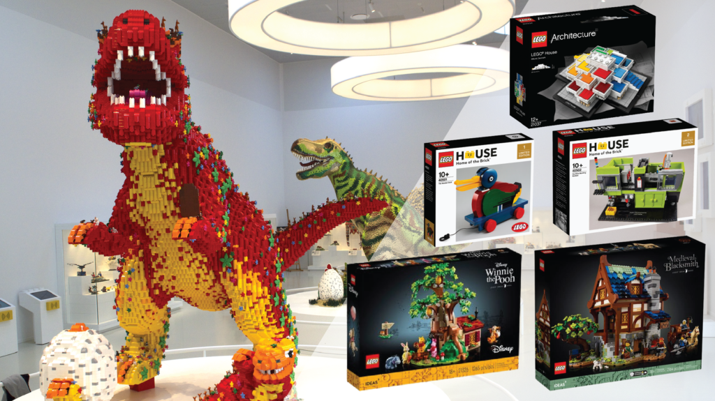 LEGO Ideas LEGO House contest prizes