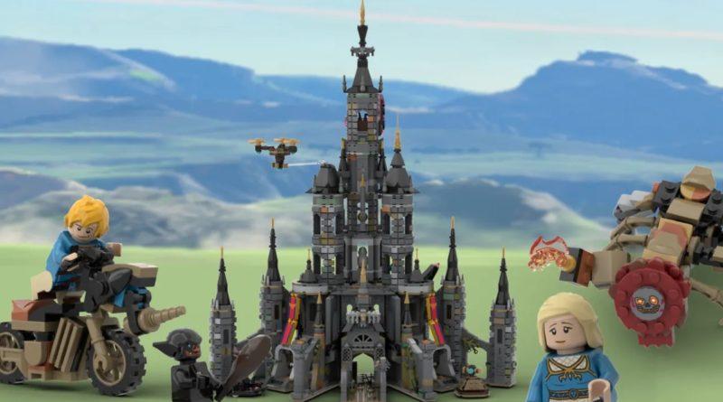 LEGO Ideas Legend of Zelda Hyrule Castle key art featured