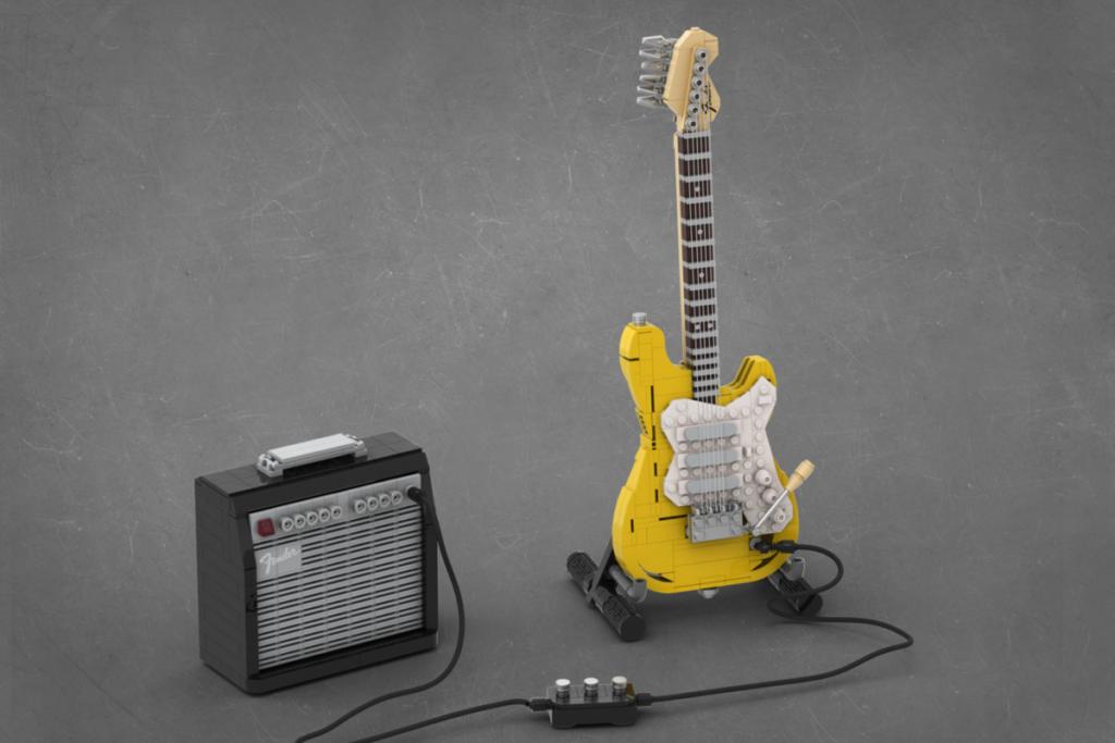 LEGO Ideas Legendary Stratocaster 2