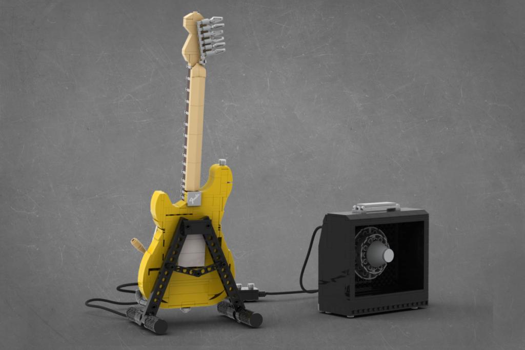 Lego Ideas ဒဏ္aryာရီ Stratocaster ၂