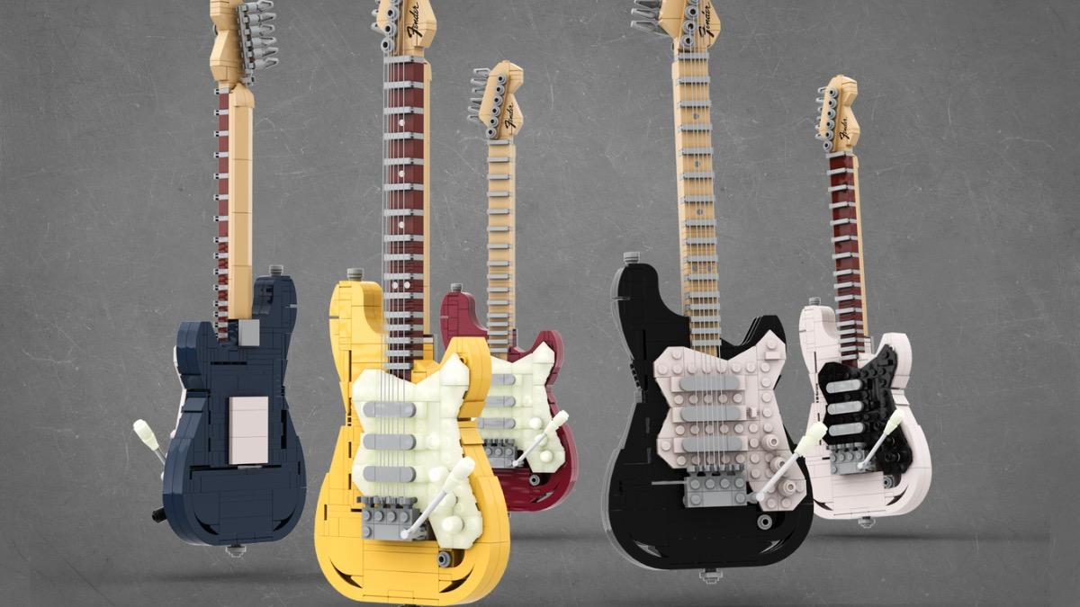LEGO Ideas Legendary Stratocaster Featured