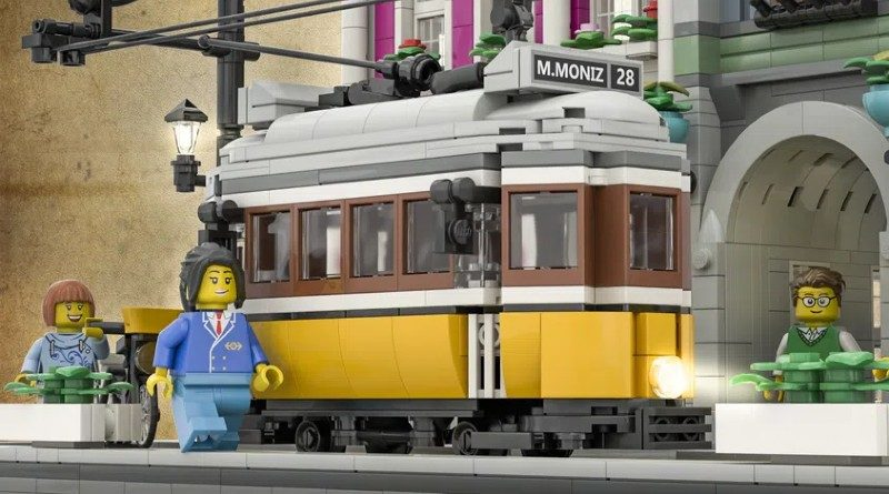 LEGO Ideas Lisbon tram featured