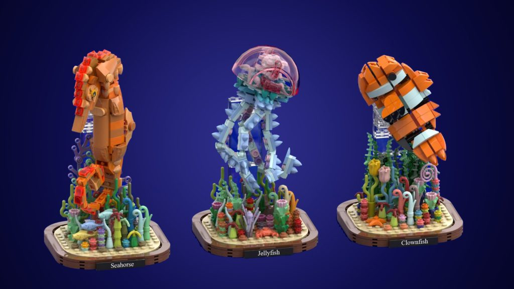 LEGO Ideas Marine Life 3