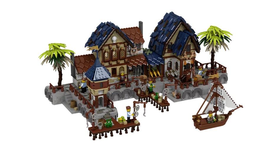 LEGO Ideas Medieval Harbour 2