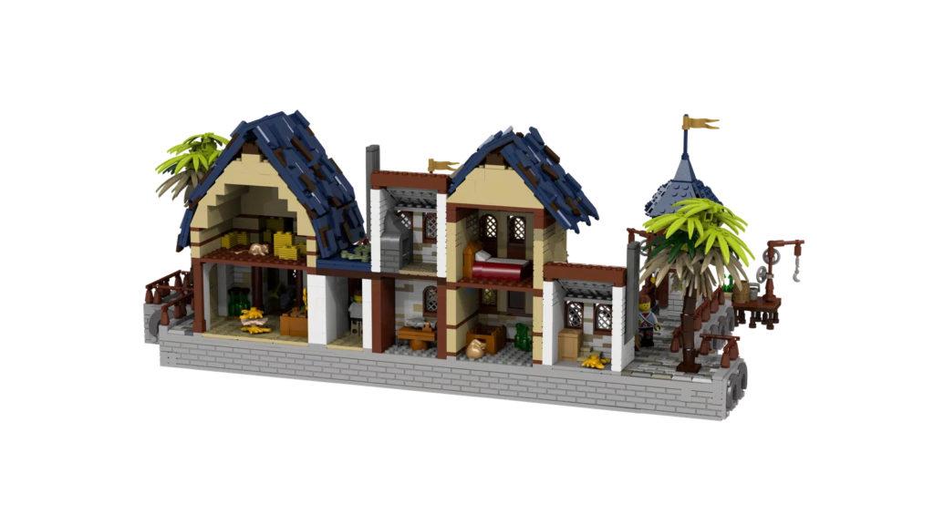 LEGO Ideas Medieval Harbour 3