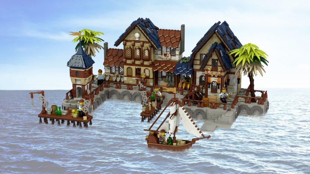 LEGO Ideas Medieval Harbour
