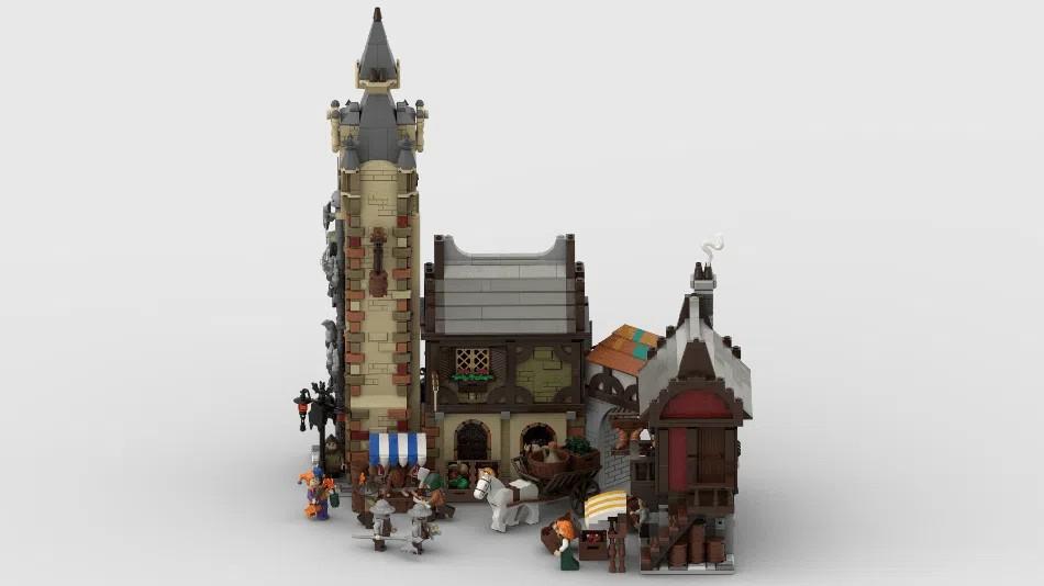 LEGO Ideas Medieval Marketplace 2