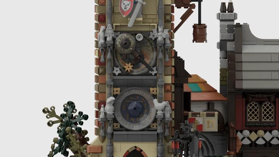 LEGO Ideas Medieval Marketplace 3