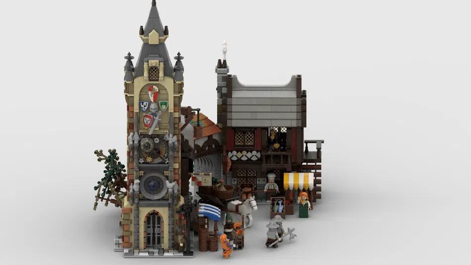 LEGO Ideas Medieval Marketplace 1
