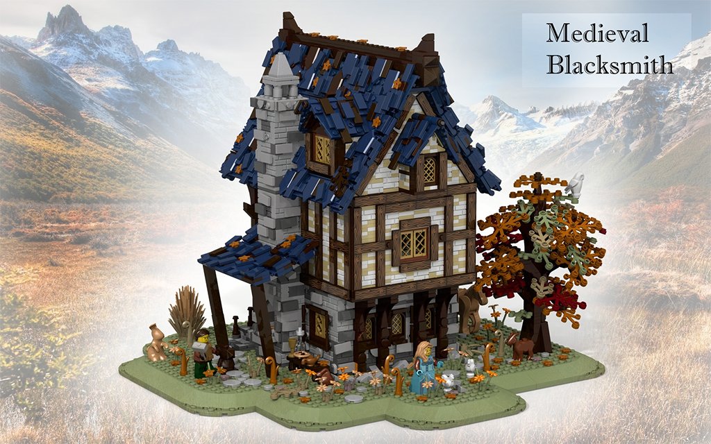 LEGO Ideas Mediveal Blacksmith