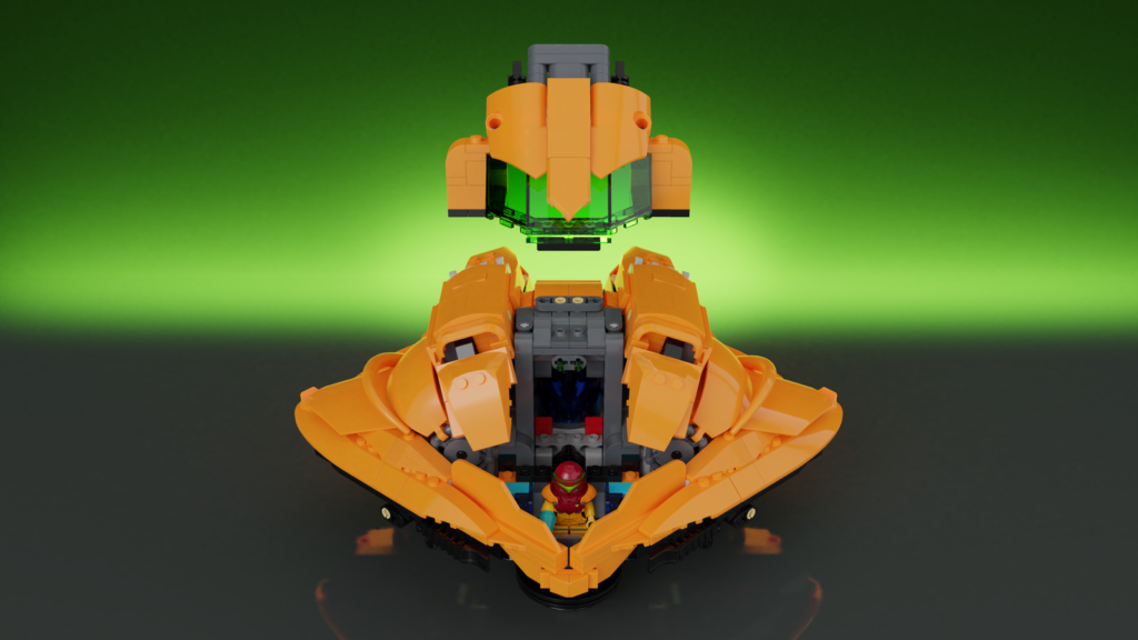 LEGO Ideas Metroid Samus Arans Gunship 1