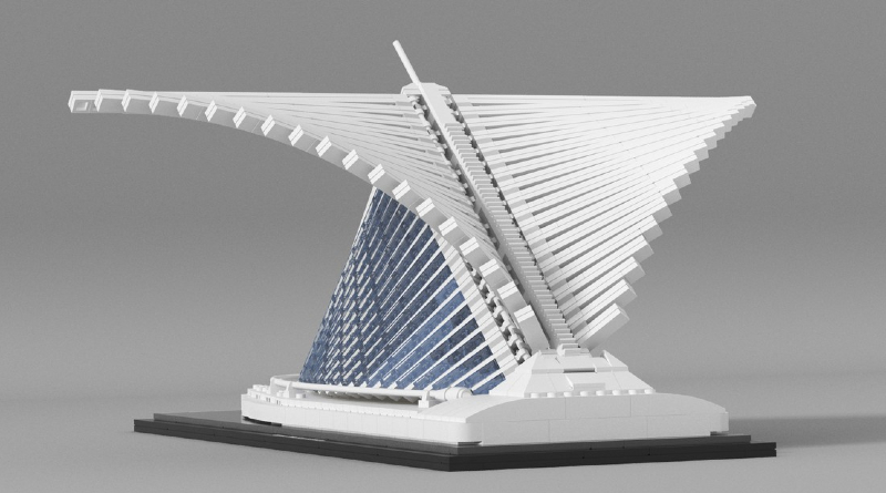 LEGO Ideas Milwaukee Museum Featured
