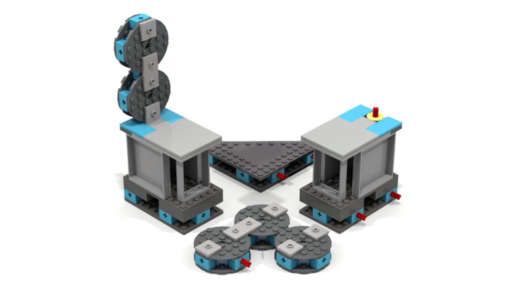 LEGO Ideas Modular Portal Testing Chamber 2
