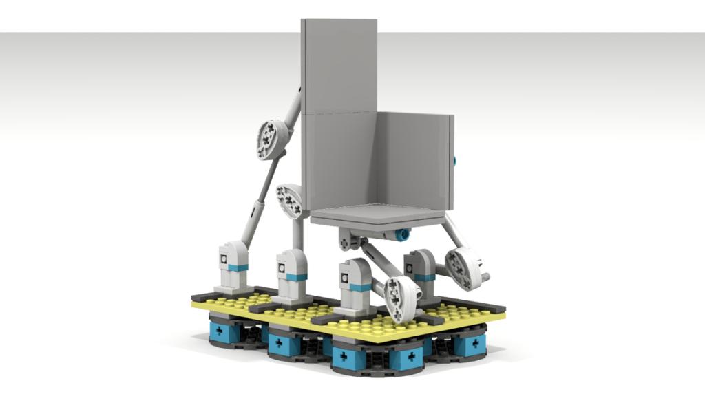 LEGO Ideas Modular Portal Testing Chamber 3