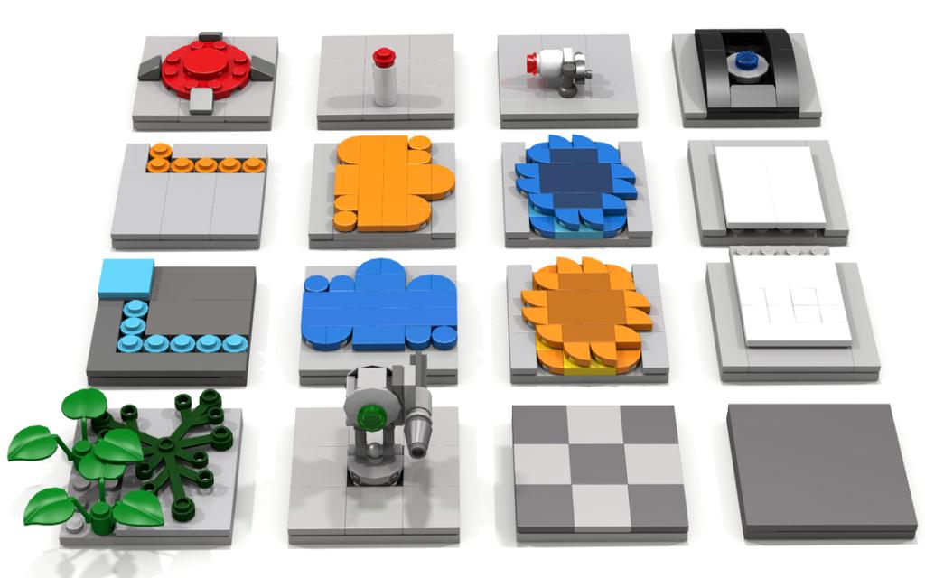 LEGO Ideas Modular Portal Testing Chamber 4