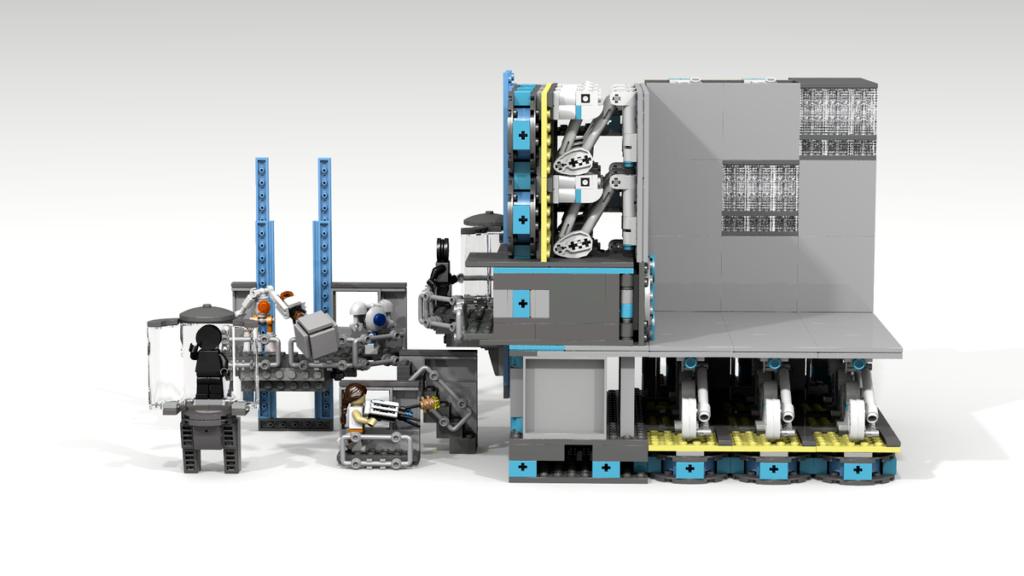 LEGO Ideas Modular Portal Testing Chamber 5