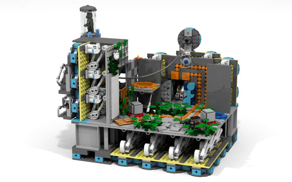 LEGO Ideas Modular Portal Testing Chamber 6