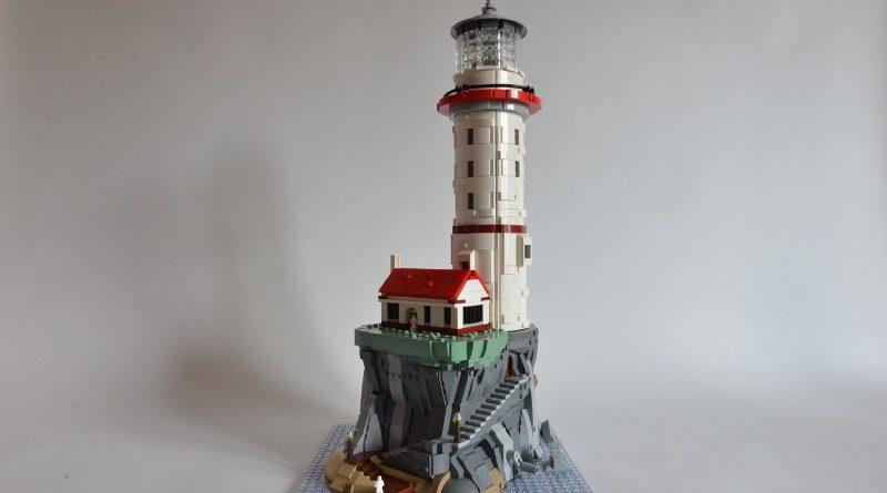 LEGO Ideas Motorized Lighthouse Sandro Quattrini featured