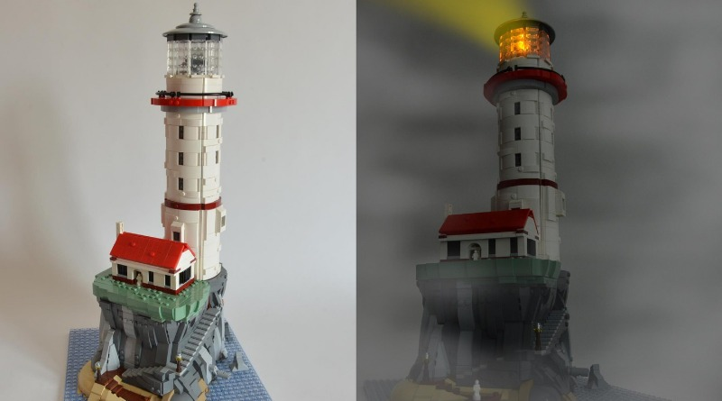 LEGO Ideas Motorized Lighthouse Featured