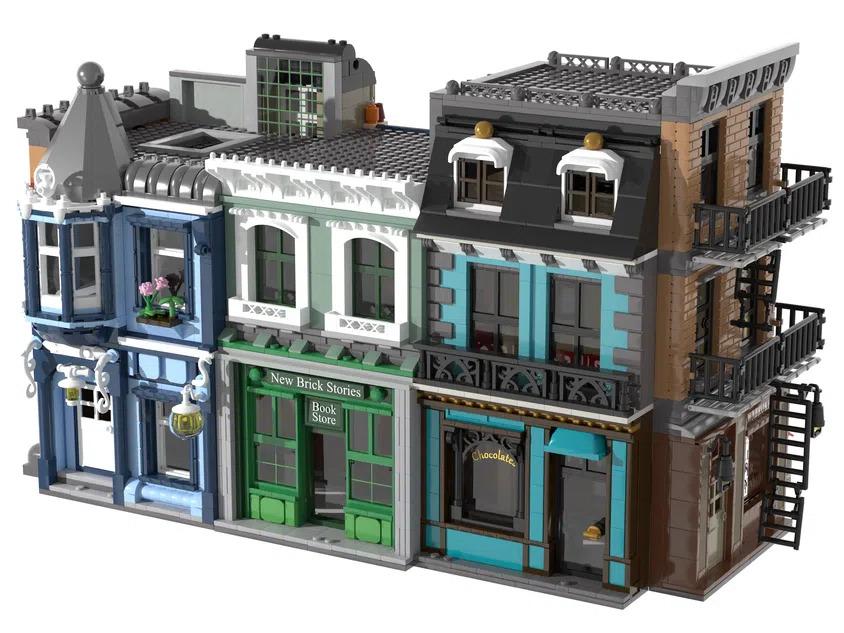 LEGO Ideas Movie Set Building