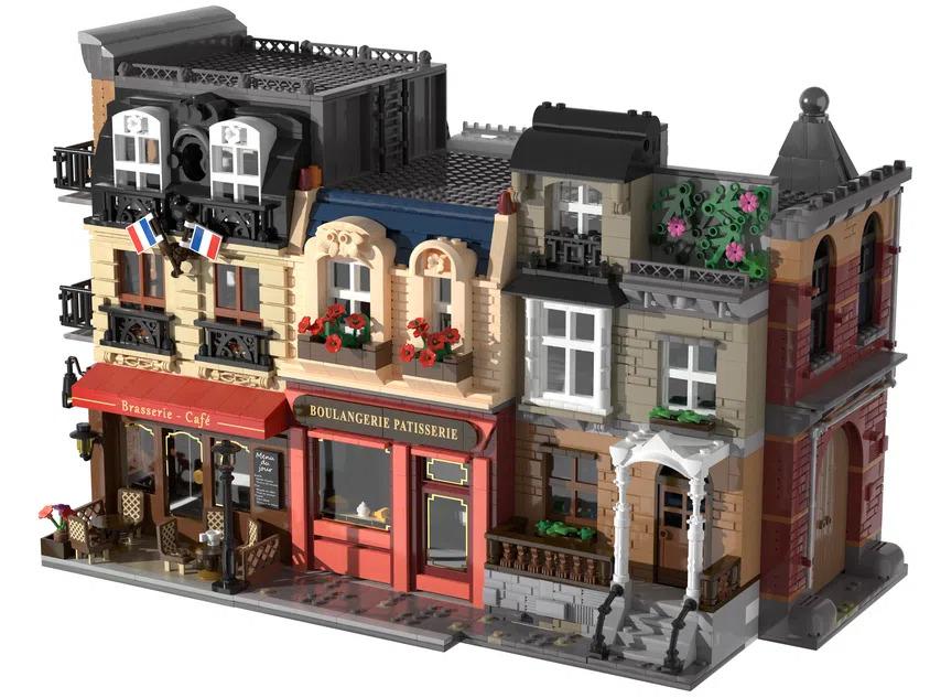 LEGO Ideas Movie Set Buildings