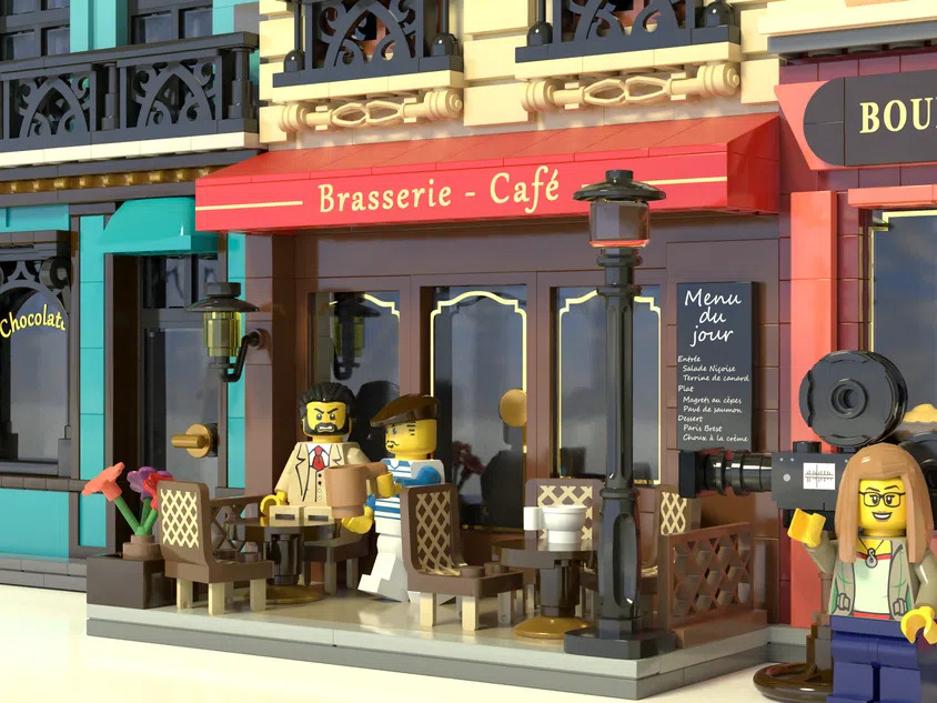 LEGO Ideas Movie Set Cafe