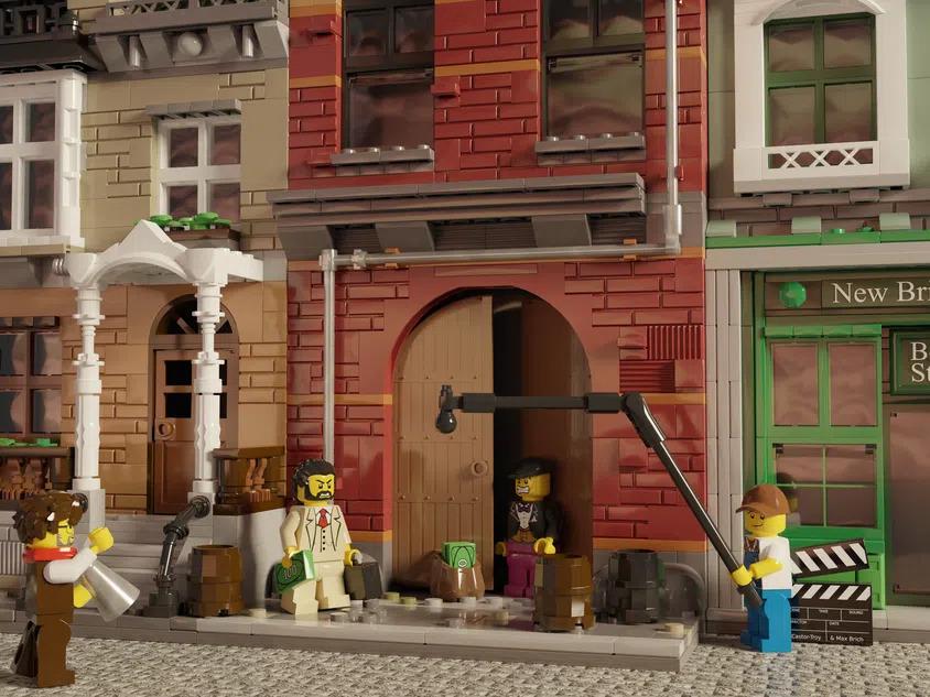 LEGO Ideas Movie Set Close Up