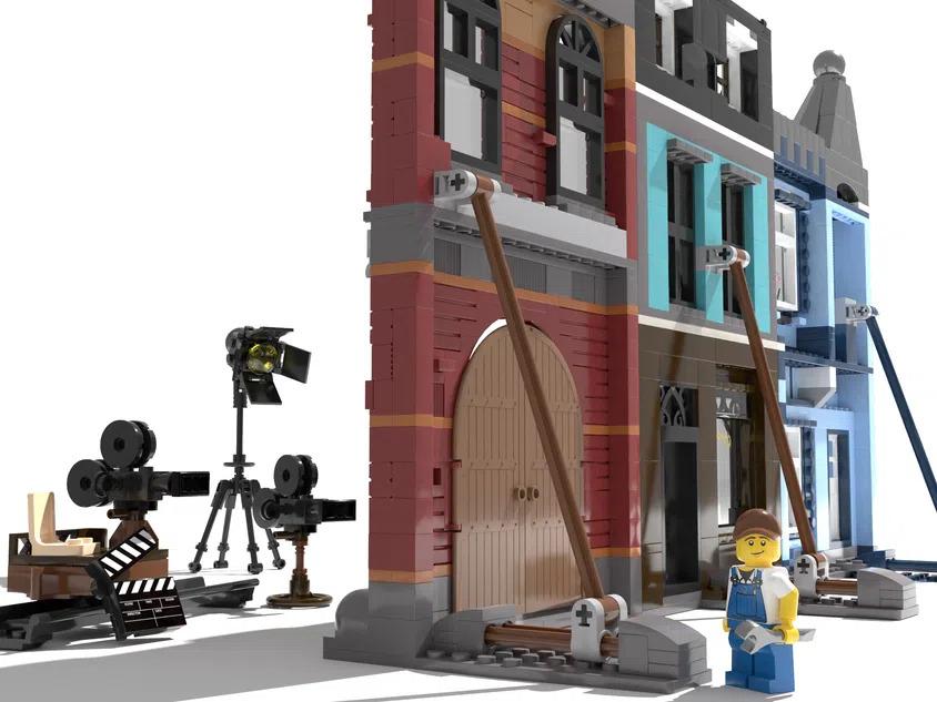 LEGO Ideas Movie Set Facade