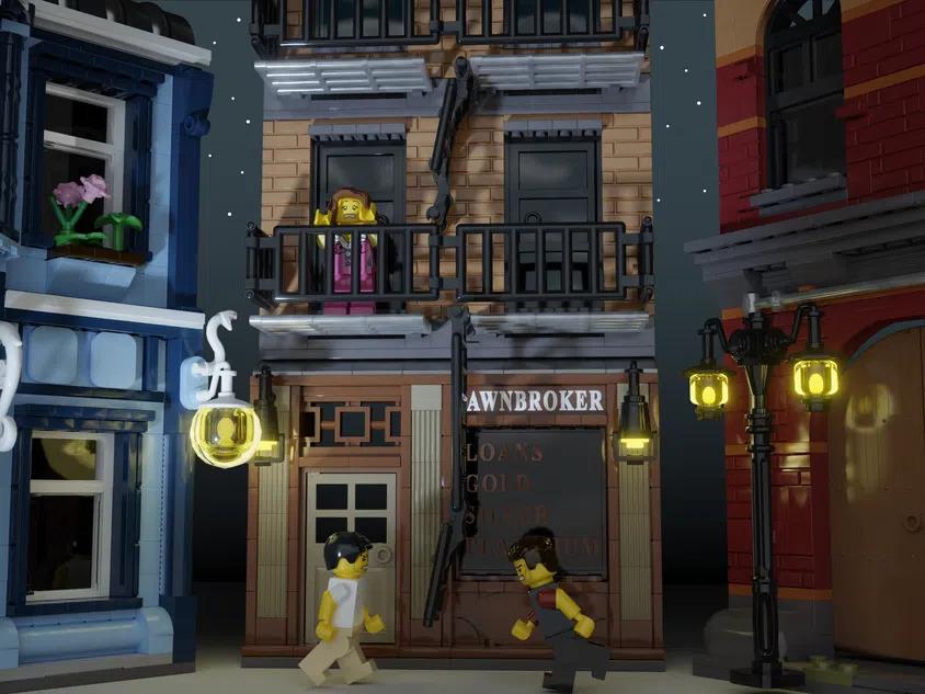 LEGO Ideas Movie Set Pawnbroker