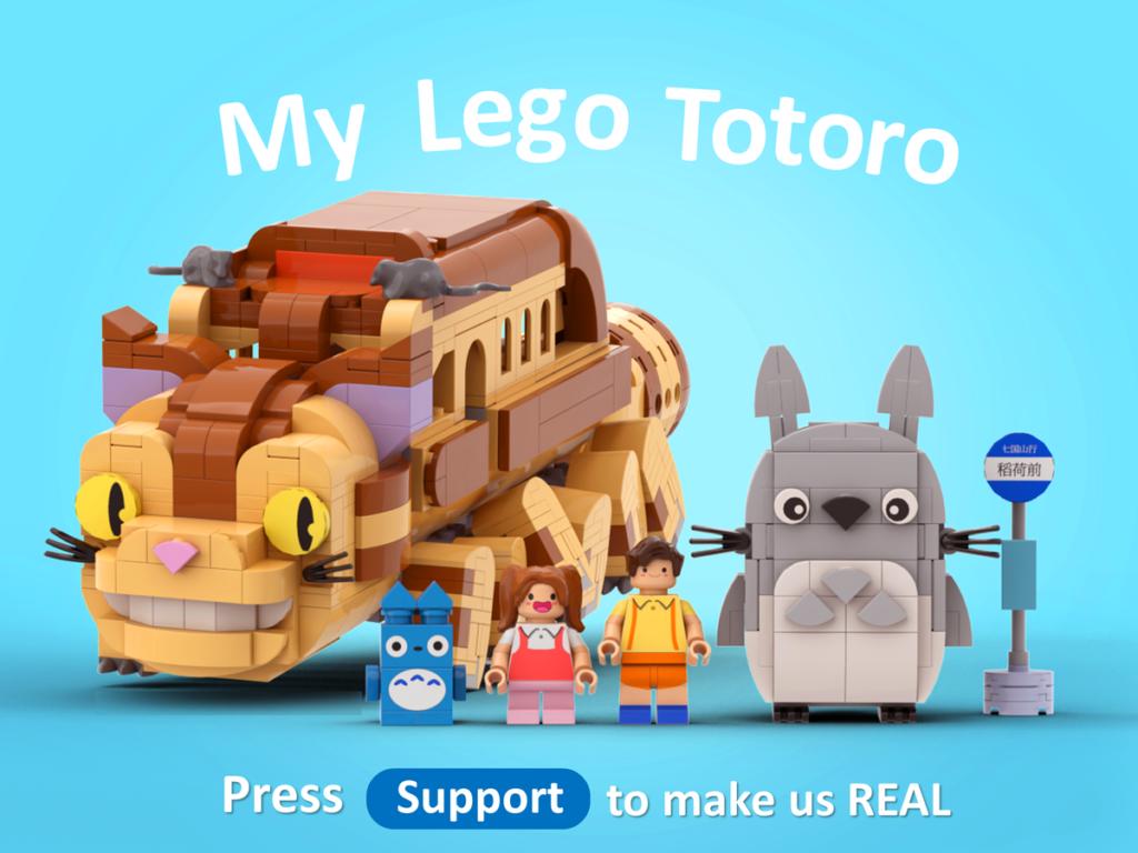 LEGO Ideas My LEGO Totoro 1