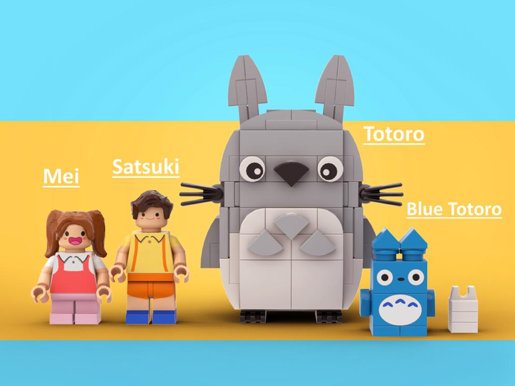 LEGO Ideas My LEGO Totoro 2