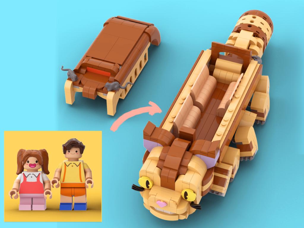 LEGO Ideas My LEGO Totoro 4