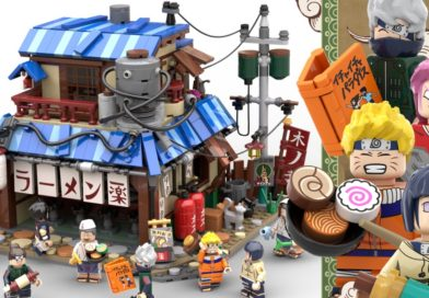 LEGO Naruto ramen shop hits 10K on LEGO Ideas for the second time